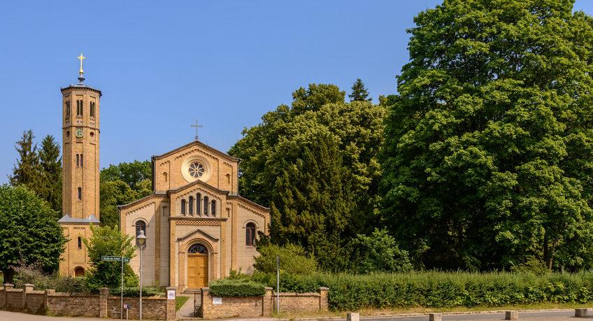 Die Kirche von Caputh